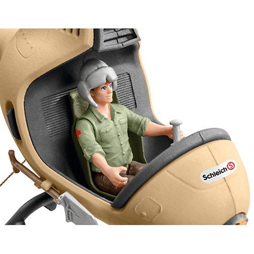 """Игровой набор Schleich """"Вертолет- спасатель для диких животных"""" от Schleich"""