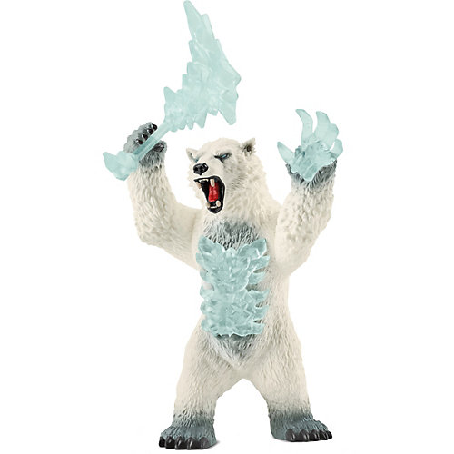 "Фигурка Schleich ""Снежный медведь"", с оружием от Schleich"