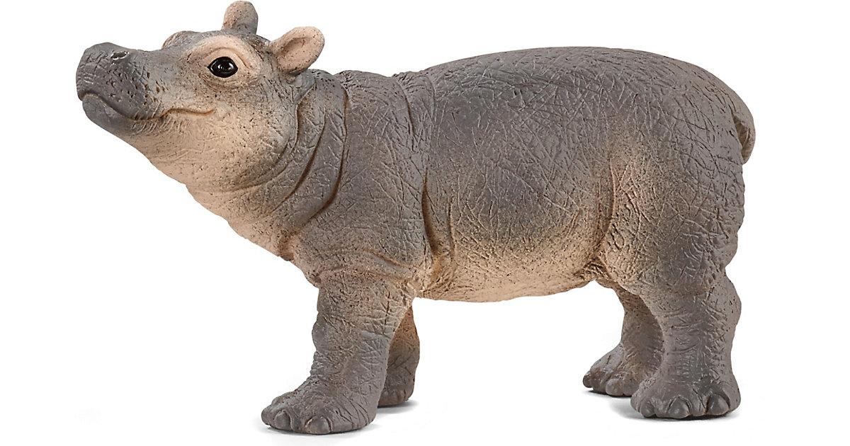 Schleich 14831 Nilpferd Junges bunt