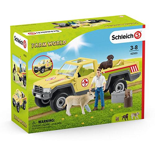 """Игровой набор Schleich """"Визит ветеринара на ферму"""" от Schleich"""
