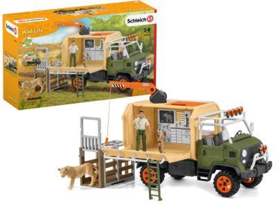 PLAYMOBIL Wild Life Spielzeug Abenteuer Pickup Truck Auto für Jungen ab 4 Jahren