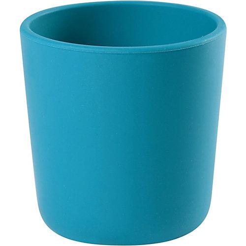 Стакан Beaba Silicone Glass, голубой от BÉABA
