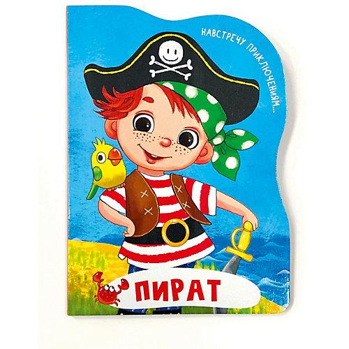 """Книга на картоне """"Пират"""" от Проф-Пресс"""