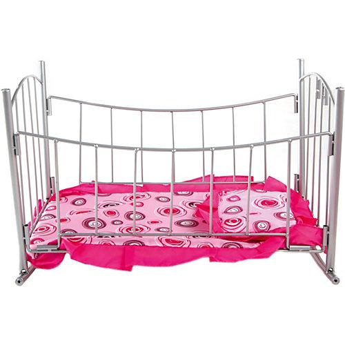 Кроватка-качалка Buggy Boom Loona, розовый с кольцами от Buggy Boom