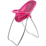 Стул-качалка трансформер Buggy Boom Loona, темно-розовый с узором