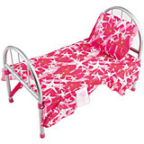 Кроватка Buggy Boom Loona, темно-розовый со звездами