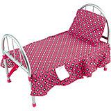 Кроватка Buggy Boom Loona, темно-розовый с узором