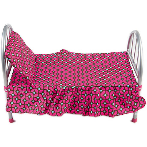 Кроватка Buggy Boom Loona, темно-розовый с узором от Buggy Boom