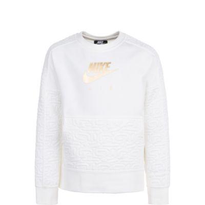 Air Fleece Top Sweatshirt für Mädchen, Nike Sportswear