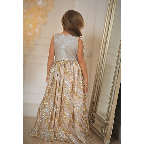 Нарядное платье Aliciia - золотой от Aliciia