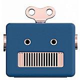 Аудиоколонка Qushini Robot, синий