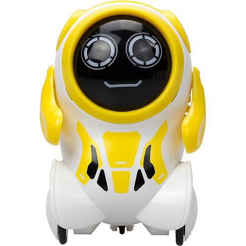 """Интерактивный робот Silverit Yxoo """"Покибот"""", жёлтый круглый от Silverlit"""