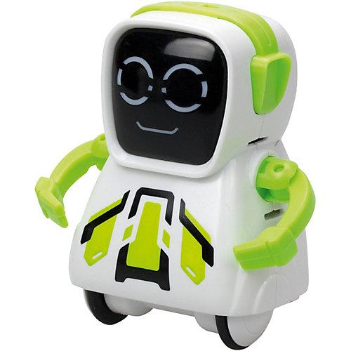 """Интерактивный робот Silverit Yxoo """"Покибот"""", жёлтый квадратный от Silverlit"""