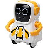 """Интерактивный робот Silverit Yxoo """"Покибот"""", жёлтый квадратный"""