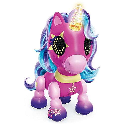 Интерактивная игрушка Spin Master Zoomer Счастливый единорог Stardust, розовый от Spin Master