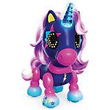 Интерактивная игрушка Spin Master Zoomer Счастливый единорог Midnight, тёмно-синий