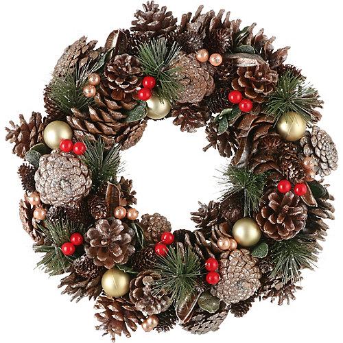 Рождественский венок House of seasons зеленый - зеленый от House of Seasons