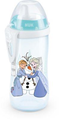 NUK Flexi Cup Trinklernflasche mit Trinkhalm BPA-frei 12+ Monate gr/ün BPA-frei 300ml Bagger auslauf- und bruchsicher
