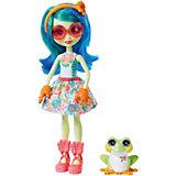 Кукла с любимой зверюшкой Enchantimals, Тамика Квакша и Бёст