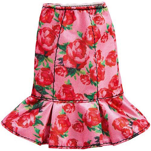 Одежа для куклы Barbie, Розовая юбка в цветочек от Mattel