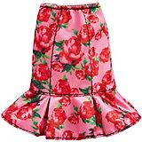 Одежа для куклы Barbie, Розовая юбка в цветочек