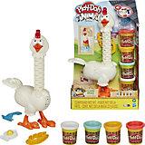 Игровой набор Play-Doh Animal Crew Курочка - чудо в перьях