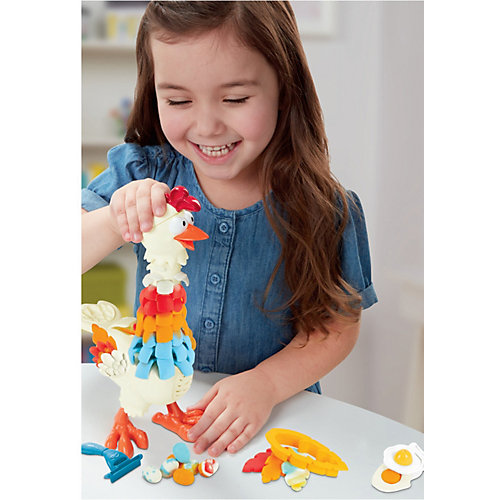 Игровой набор Play-Doh Animal Crew Курочка - чудо в перьях от Hasbro
