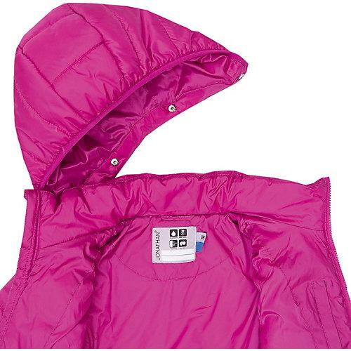 Утеплённая куртка Jonathan - розовый от Jonathan