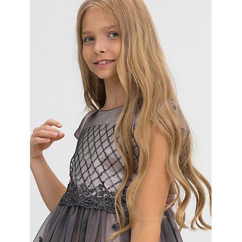Нарядное платье Baby Steen - серый от Baby Steen