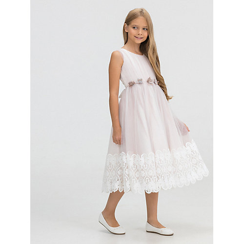 Нарядное платье Baby Steen - светло-розовый от Baby Steen