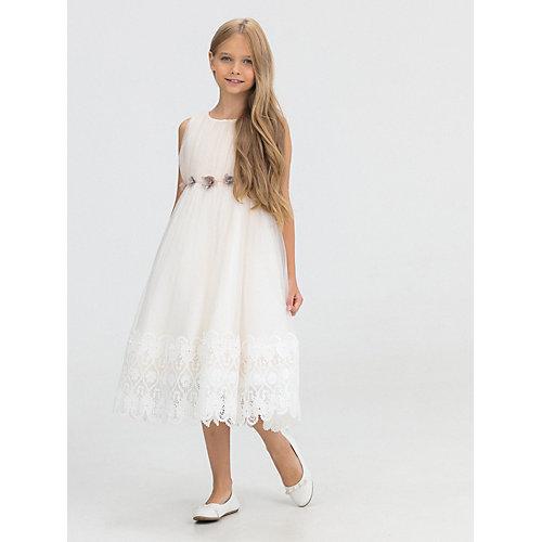 Нарядное платье Baby Steen - бежевый от Baby Steen