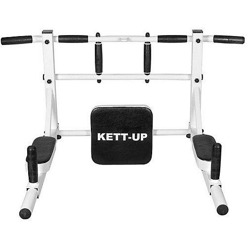 """Турник Kett-Up """"Брусья 3 в 1"""", бело-чёрный - разноцветный"""