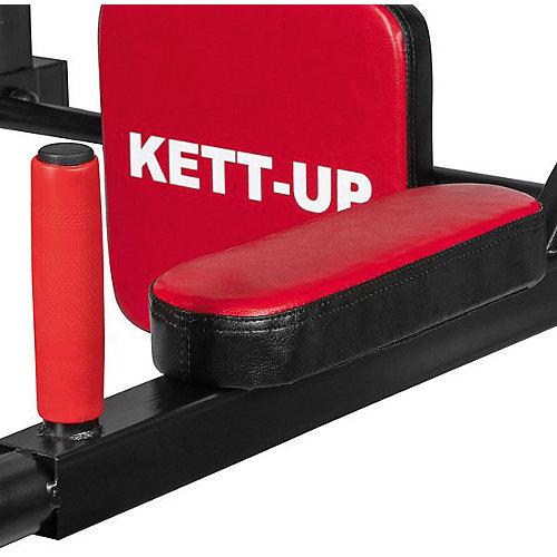 """Турник Kett-Up """"Брусья 3 в 1"""", чёрно-красный - разноцветный от Kett-Up"""