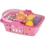 Игровой набор фруктов Pilsan Fruit Basket