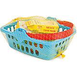 """Игровой набор Pilsan Fruit Basket """"Корзина для фруктов"""", синий"""