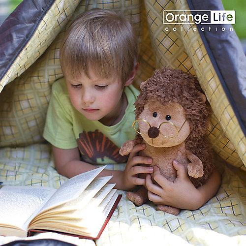 Мягкая игрушка Orange Life: Ёжик Колюнчик в очках, 15 см от Orange