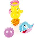"""Набор игрушек для ванны Ути Пути """"Давай поплаваем"""" Дельфинчик и морской конёк"""