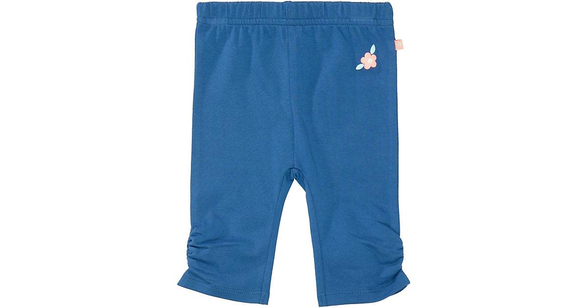Baby 7/8 Leggings  blau Gr. 68 Mädchen Baby