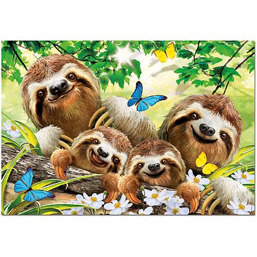 Пазл Educa Семейное селфи ленивцев, 500 элементов от Educa