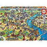 Пазл Educa Карта Лондона, 500 элементов