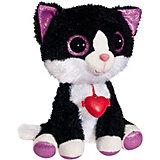 """Мягкая игрушка Fancy """"Глазастик котик"""", черный"""