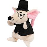 """Мягкая игрушка Fluffy Family """"Сэр Мышь"""", 20 см, бело-черная"""