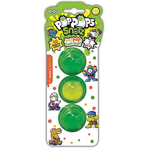 Игровой набор Yulu PopPops Snotz, 3 шт от BANDAI