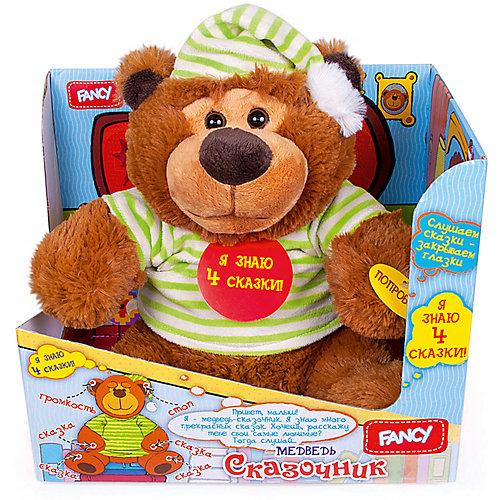 Медведь-сказочник Fancy, 4 сказки от Fancy