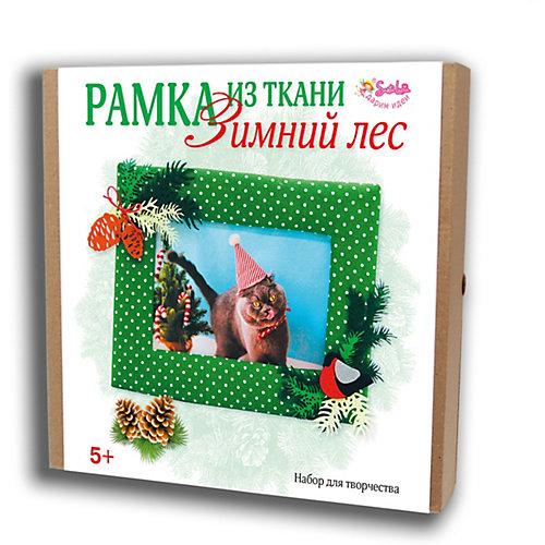 Набор для творчества Santa Lucia Рамка из ткани Зимний лес от Santa Lucia