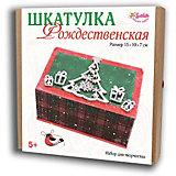 Набор для творчества Santa Lucia Шкатулка Рождественская