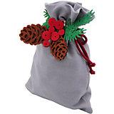 Мешок для подарков Santa Lucia Голубой