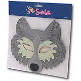 Маска фетровая Santa Lucia Волк