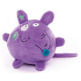 """Мягкая игрушка Button Blue """"Мышонок"""" фиолетовый, 10 см"""