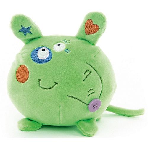 """Мягкая игрушка Button Blue """"Мышонок"""" зелёный, 10 см от Button Blue"""